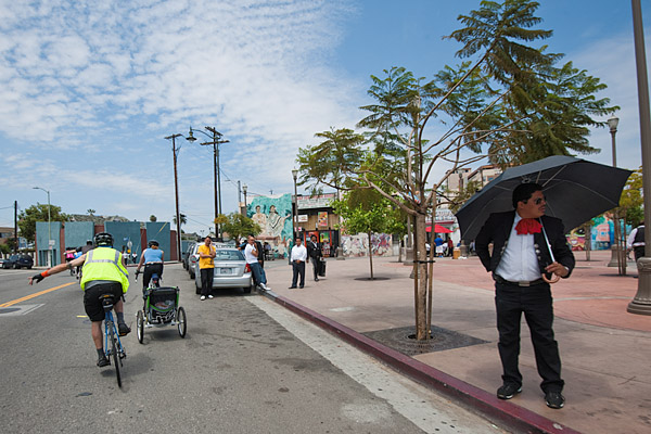 Mariachi Plaza in Boyle Heights