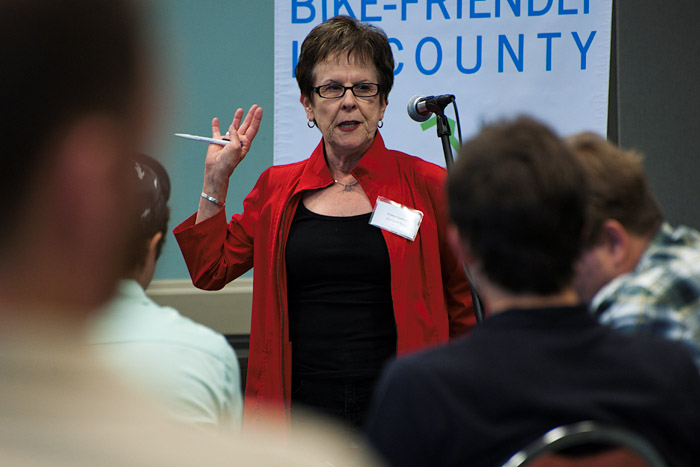 Lynne Goldsmith, Bicycle Program Manager, Los Angeles County Metropolitan Transportation Authority.