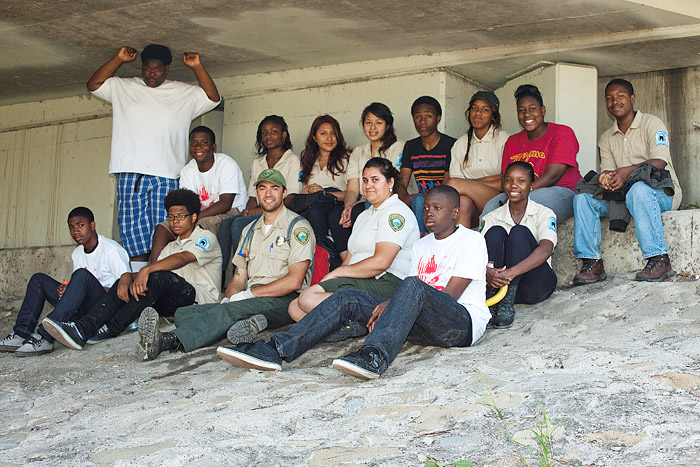 Junior Rangers of the Mountains Recreation and Conservation Authority