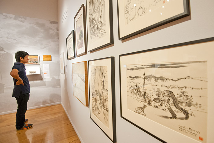 The 'Art of Gaman' exhibition opened at the Museum of International Folk Art in Santa Fe, New Mexico, on Sunday, July 8, 2012.
