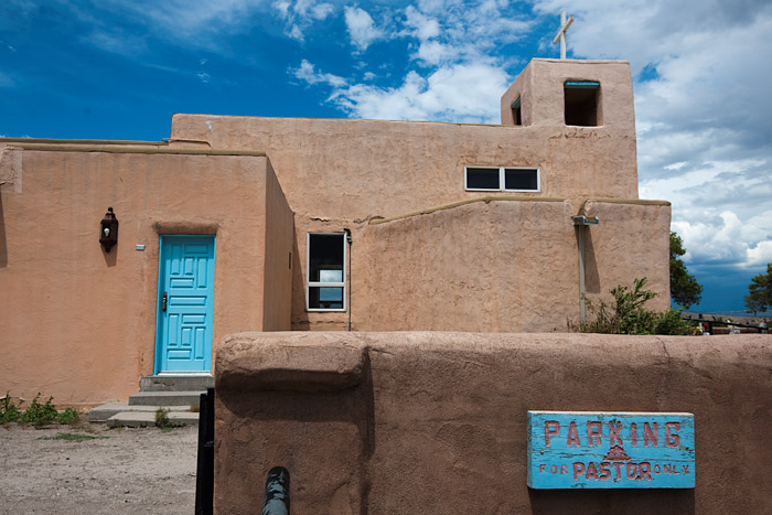 Church in Santa Clara Pueblo