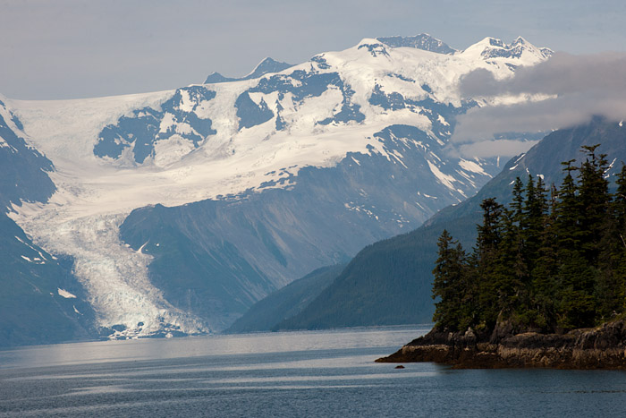 Glacier in College Fjord, Prince William Sound