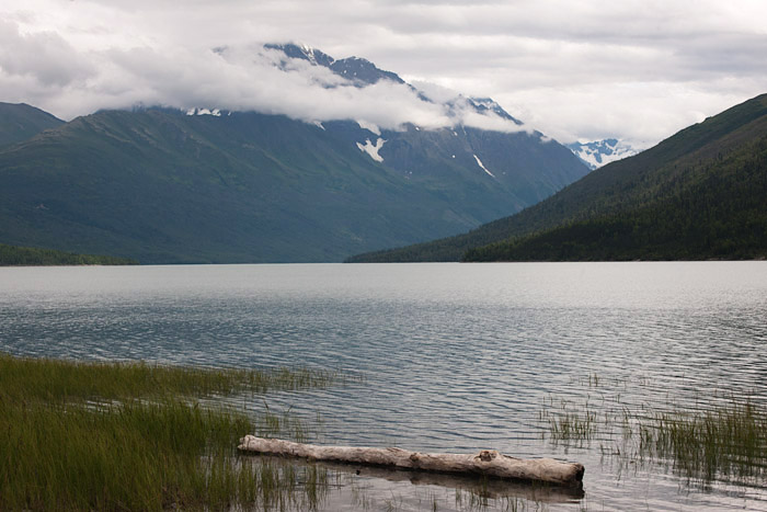 Eklutna Lake near Anchorage, Alaska