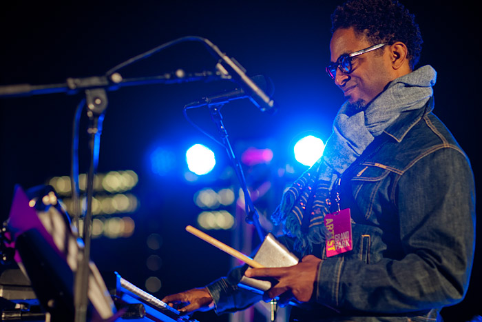Ethio-Cali plays Thursday, October 10, 2013, at Grand Park, Los Angeles.