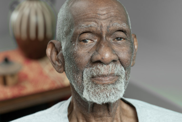 Dr. Sebi, Alfredo Bowman, poses at his office in Los Angeles on May 6, 2014. He died in August 2016 while in police custody in Honduras.
