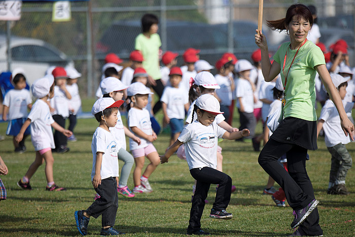 Undoukai, Nakayoshi Preschool Sports Day at Mas Fukai Park in Gardena, California, on Sunday, March 29, 2015.