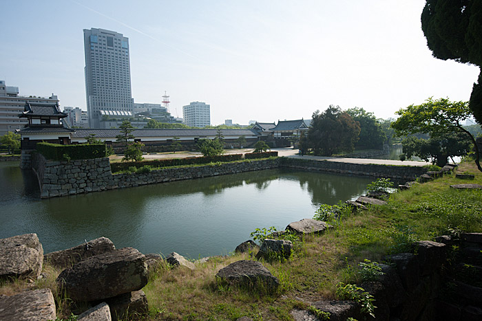 Moat at Hiroshima Castle