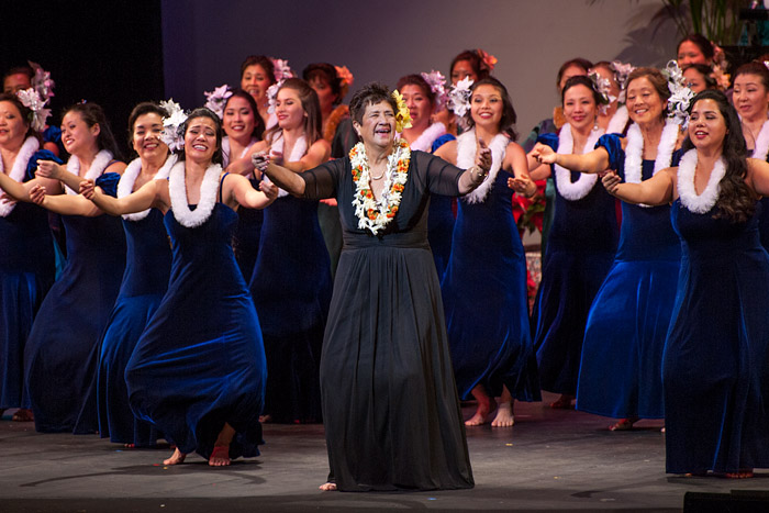 Kanani Kalama Hālau Christmas Show at the Performing Arts Center in Redondo Beach